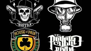 HOUSE OF PAIN - COKA NOSTRA -  PSYCHO REALM // MIX - FULL SONGS - sEa_kO-