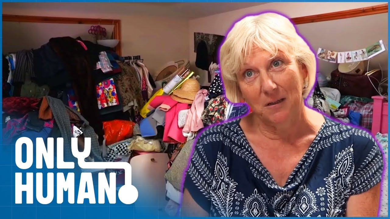 This Flat Is So Cluttered You Can't Even See The Furniture | Hoarders SOS Ep 13 | Only Human