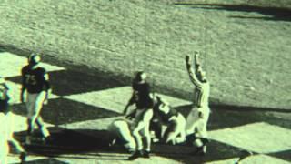 1962 Block Punt vs Auburn