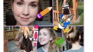 Running Late For School ⎜Quick Hairstyles, Makeup, & Outfit Ideas! Thumbnail