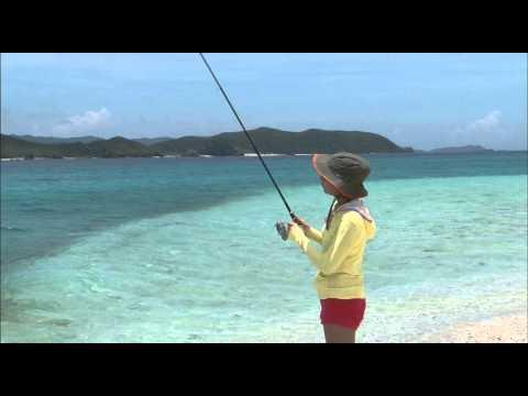 沖縄立ち込みルアー釣り | FunnyCat.TV