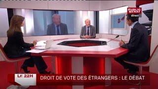 Claude Dilain et Bruno Retailleau - Le 22H (08/12/2011)