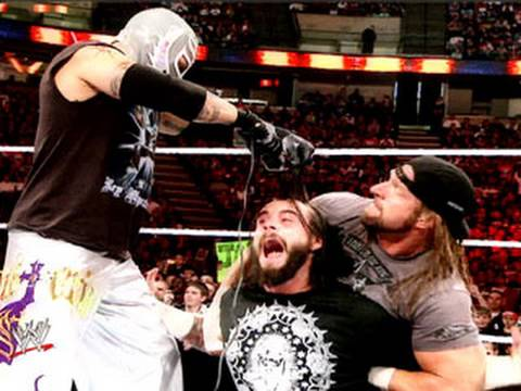 Over The Limit - Rey Mysterio vs. CM Punk - Straight Edge
