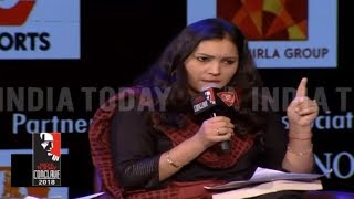 I'm An Indian And A Hindu; Shubhrastha's Fiery Counter At India Today Conclave 2018