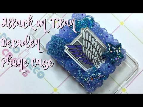 Attack on Titan Decoden Phone Case - Watch me Decoden!