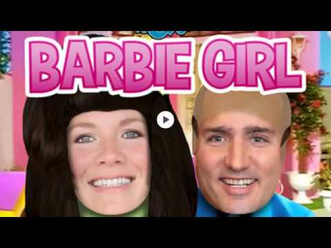 JibJab Barbie Girl feat. Justin Trudeau & Sophie Grégoire - YouTube