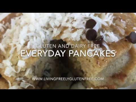 Everyday Pancakes (Gluten Free, Dairy Free)