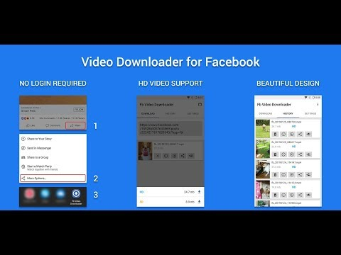 Video Downloader for Facebook - Apps on Google Play