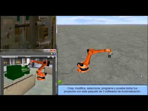 Simulador de plc en 3d youtube for Simulador de cocinas 3d