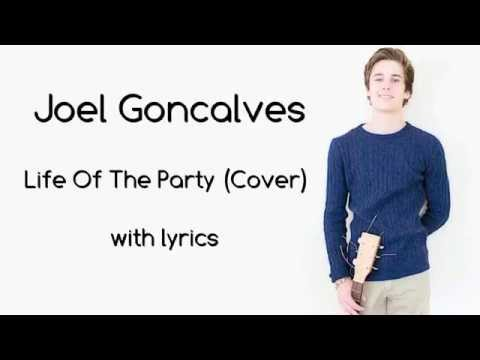 Joel Adams   Life Of The Party (cover) with lyrics
