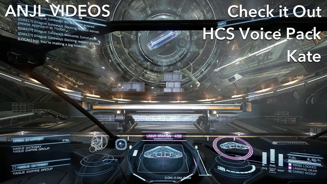 Check it Out: Elite Dangerous HCS Voice Pack - Kate
