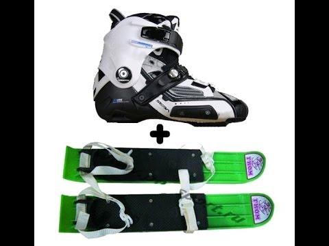 Апгрейд роликов в лыжи=)