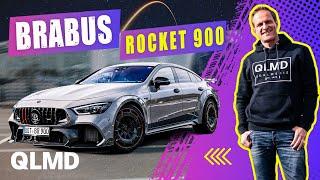 BRABUS Rocket 900   Die Rakete hebt ab   Durchladen mit 900PS   Matthias Malmedie