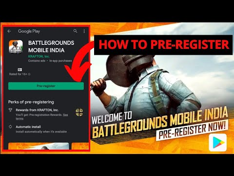 Battlegrounds Mobile India • How To Pre-register • How To Install PUBG Mobile India