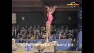 Olessia Dudnik 1990 Balance Beam D Score Guide (2009 - 2012 CoP)