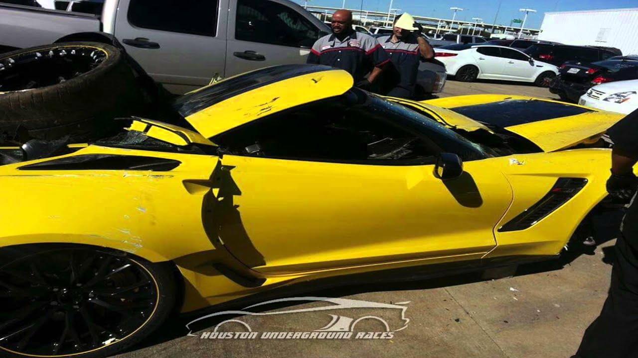 dealership porter destroys 1 of 500 corvette c7 r porter dealership