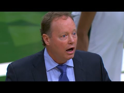 Mike Budenholzer Gets Ejected - Grizzlies vs Bucks | November 14, 2018