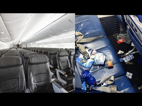 Airline COMMERCIALS VS Reality