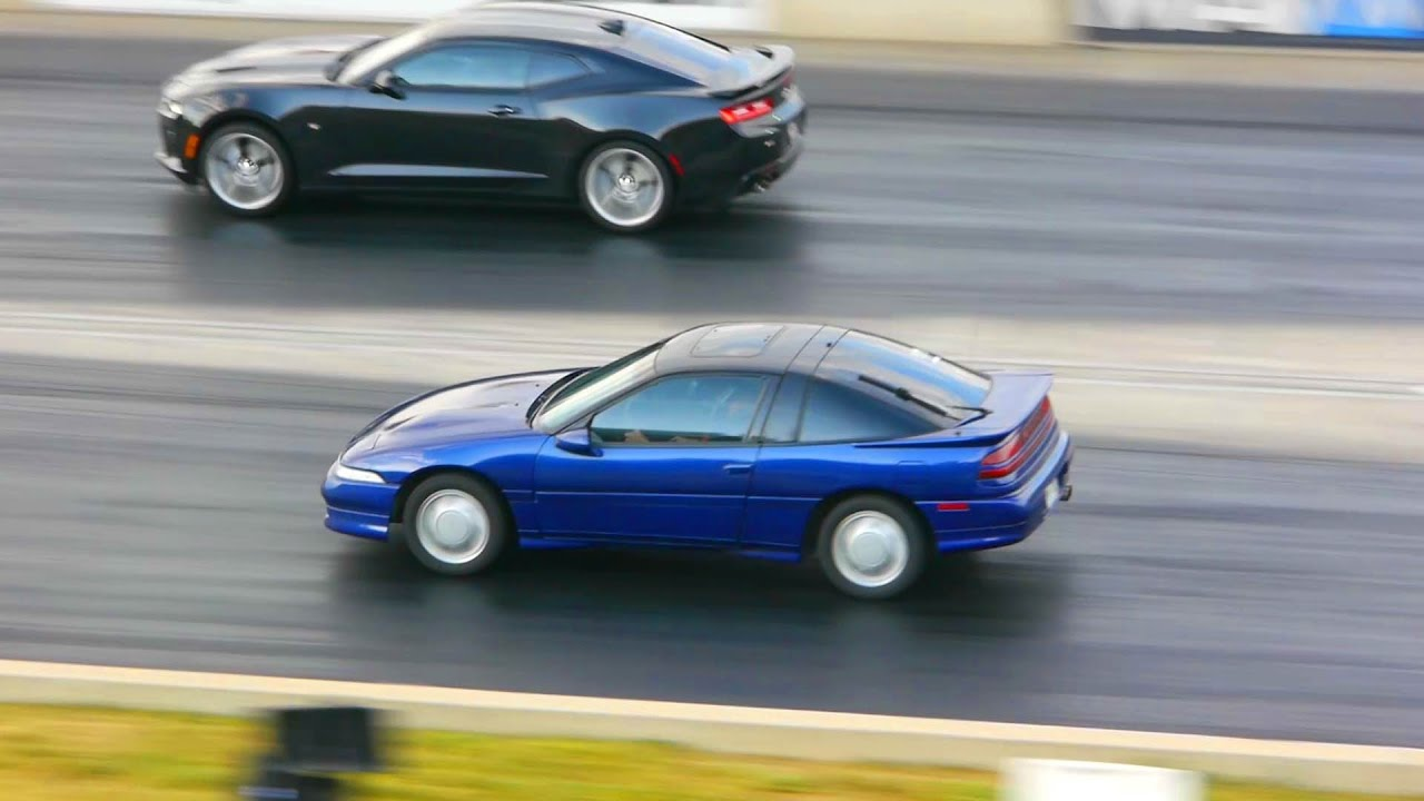 Coilovers = Faster Quarter Mile - DSM Drag Racing!