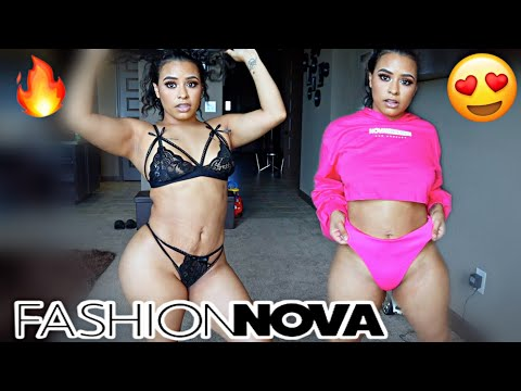 Trying on my explicit Fashion Nova outfits!