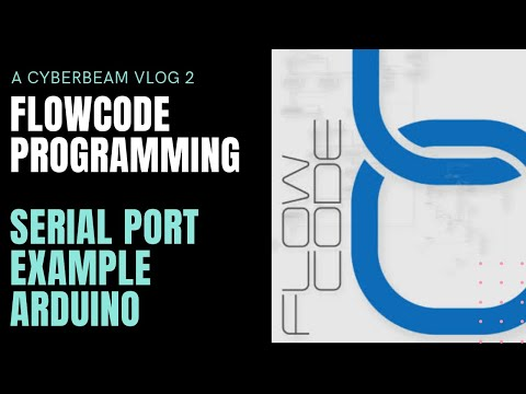 Easy Serial Port Communication Using Flowcode  ARDUINO