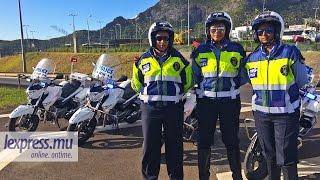 Motard de la police... au féminin
