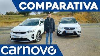 SEAT Arona vs Kia Stonic - Comparativa / Opinión / Review / Prueba / Test en español | Carnovo