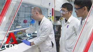 New method by NTU scientists uses light energy to turn plastic waste into useful chemicals