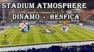DINAMO vs BENFICA / STADIUM ATMOSPHERE / ZAGREB / MAKSIMIR