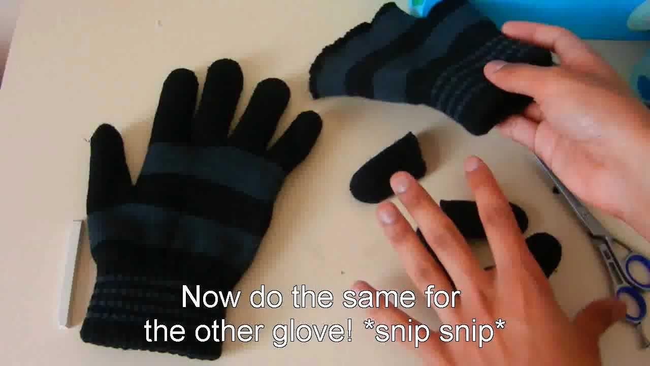 Fingerless gloves diy -  Hd Vlog 15 Diy Fingerless Gloves
