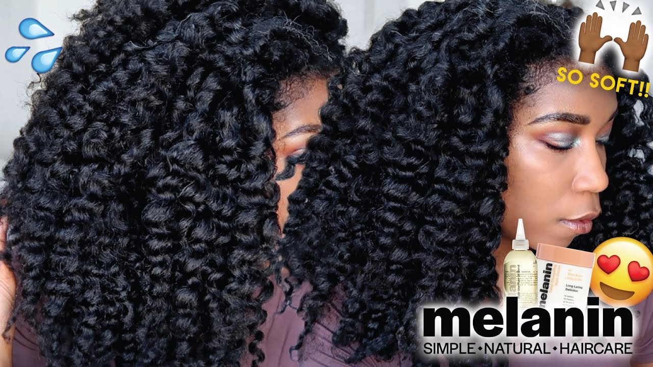 the best curl products for 4c hair - curly hair routine for