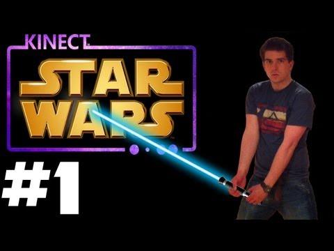 Kinect Star Wars - Walkthrough - Part 1 -With Camera