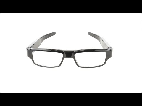 RecorderGear CG1000 Professional Spy Camera Glasses 1080P