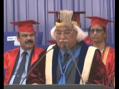 First Convocation of AMITY UNIVERSITY GURGAON Part 1