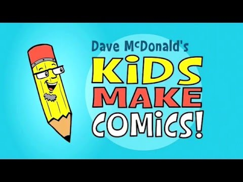 Kids Make Comics#1: Simple Shapes make Super Characters!