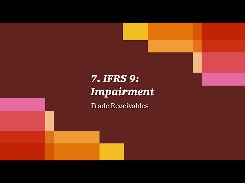 7. IFRS 9: Impairment - Trade Receivables