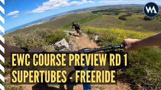 2020 EWC // RD 1 // SUPERTUBES INTO FREERIDE // COURSE PREVIEW