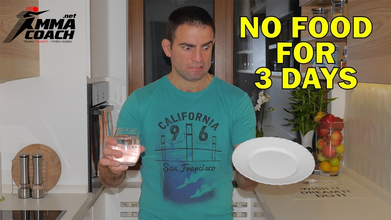 Water fasting tips: My 3-day water fast