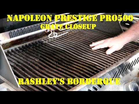 Napoleon Prestige Pro500 Stainless Grates-Rust Question Answered