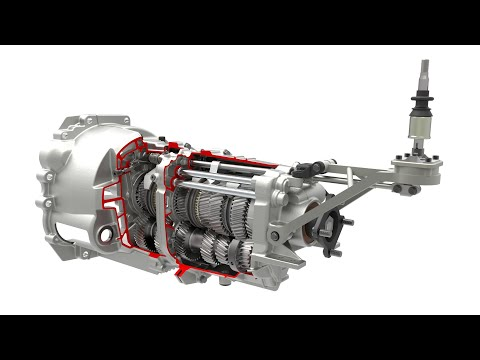 GETRAG V160 Gearbox Assembly Animation