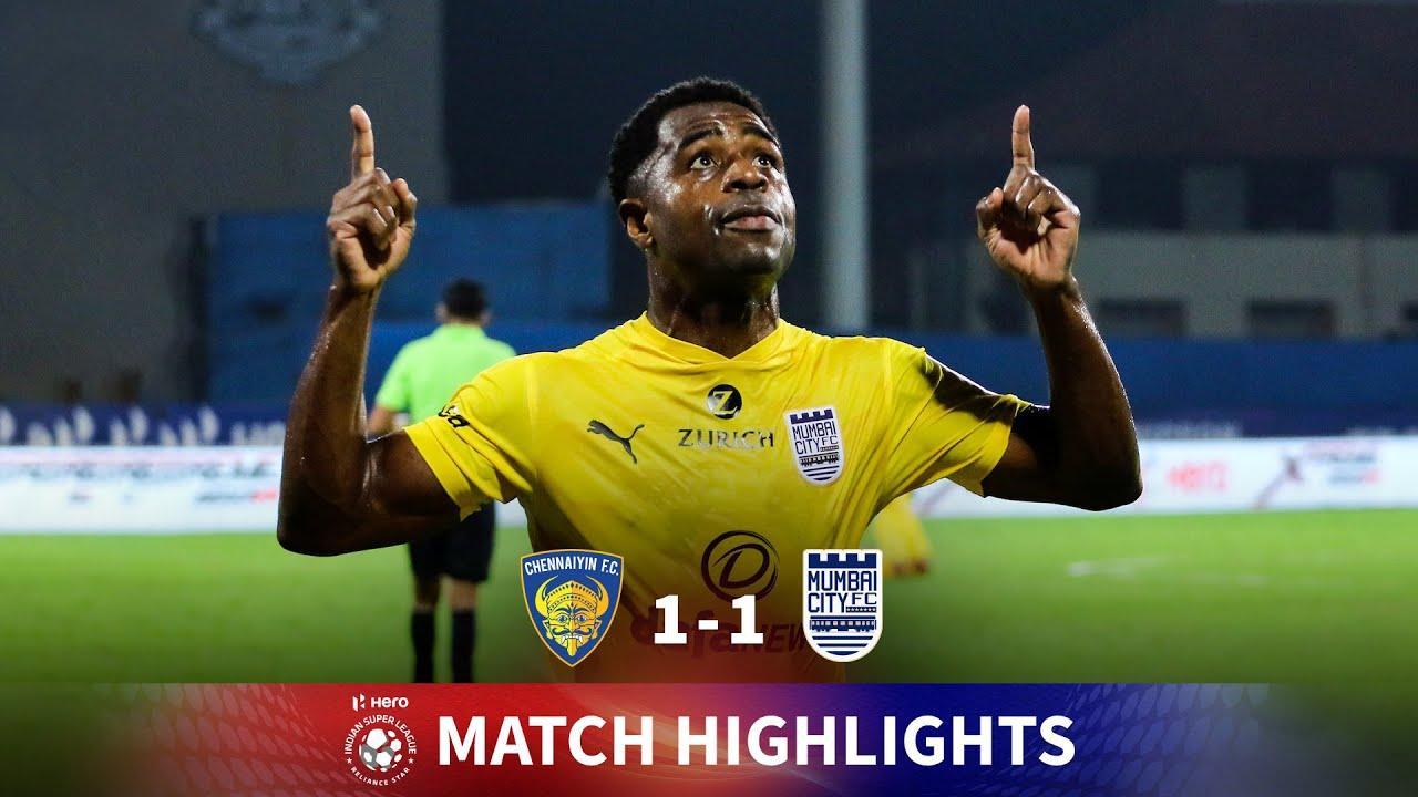 Download Highlights - Chennaiyin FC 1-1 Mumbai City FC - Match 71   Hero ISL 2020-21