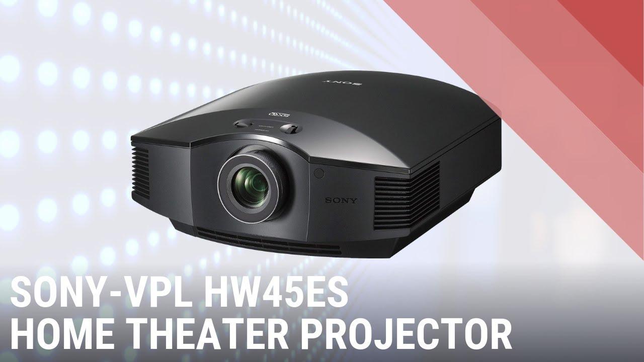 Sony VPL-HW45ES youtube