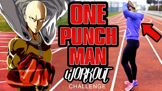 ONE PUNCH MAN Workout CHALLENGE by a WOMAN !