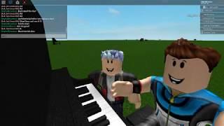 Pokemon Theme Song - Roblox Piano Cover - Ash version - w/DigitalBrandon and Ash_Ketchum288