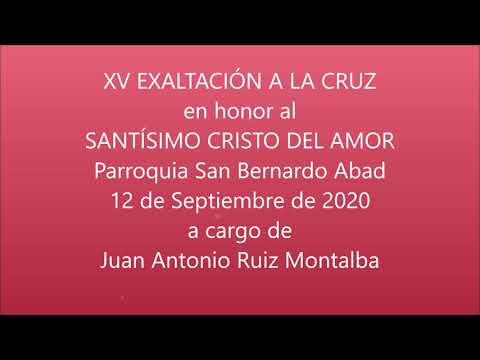 LA LINEA COFRADE. XV EXALTACIÓN A LA CRUZ a cargo de JUAN ANTONIO RUIZ MONTALBA