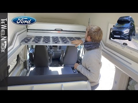 2019 Ford Transit Custom Nugget Plus High Roof LWB
