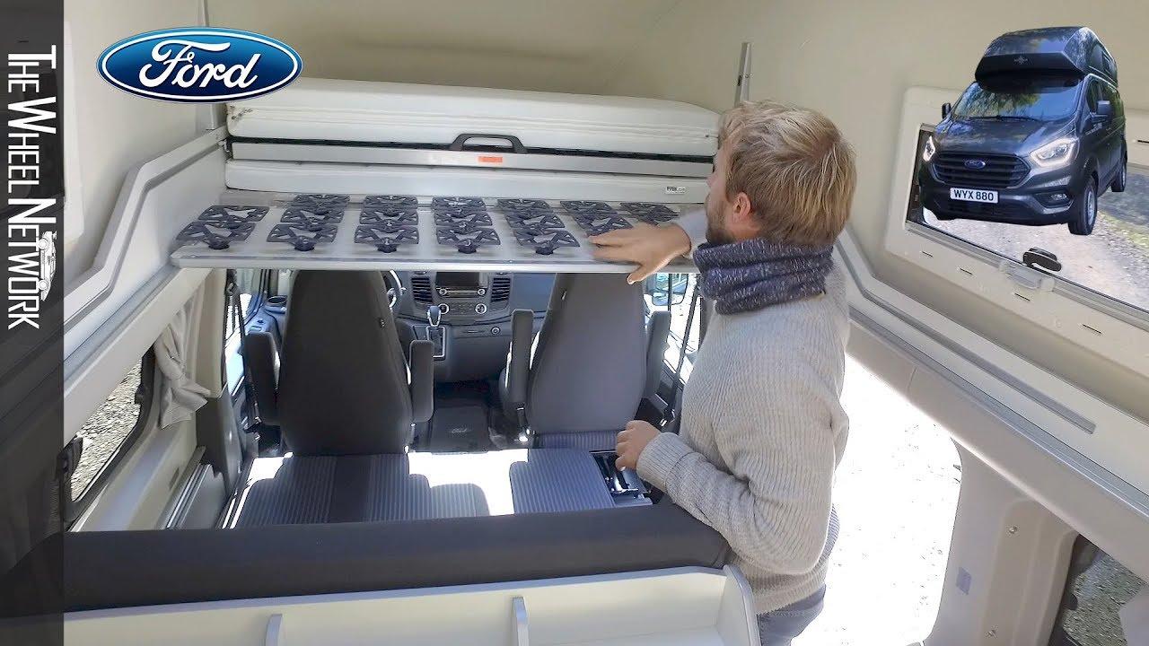 2019 Ford Transit Custom Nugget Plus High Roof Lwb Youtube