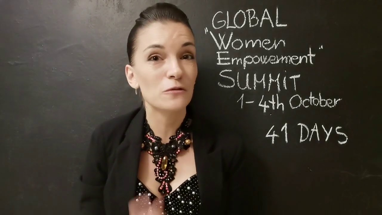41 days to go Global Online Women Empowerment Sum