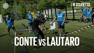 "FIGHT HIGHLIGHTS | ANTONIO CONTE vs LAUTARO ""EL TORO"" MARTINEZ! 🥊⚫🔵🤣 #IMInter #IMScudetto #Shorts"