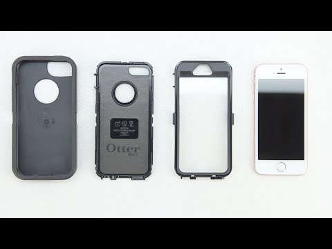 How To Install The Otterbox Defender Series Case On The Iphone Se